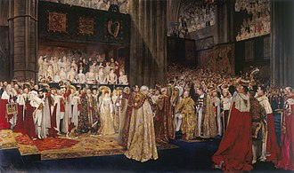 I was glad - Parry's setting was written for the coronation of King Edward VII in 1902