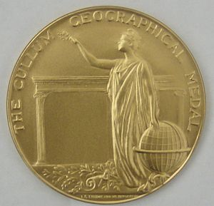 Cullum Geographical Medal cover