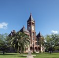 The DeWitt County Courthouse in Cuero, Texas LCCN2014632822.tif