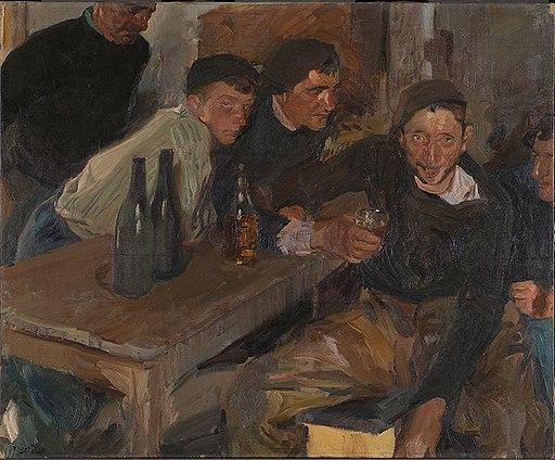 The Drunkard, Zarauz (El Borracho, Zarauz) by Joaquín Sorolla