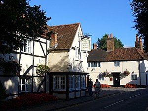 Great House at Sonning - The Great House at Sonning from the road.
