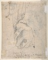 The Head and Shoulders of a Woman in Profile; Separate Studies of Her Head and Ear (recto); Fragment of Drapery Study, Profile of Architectural Molding (verso). MET DP810937.jpg