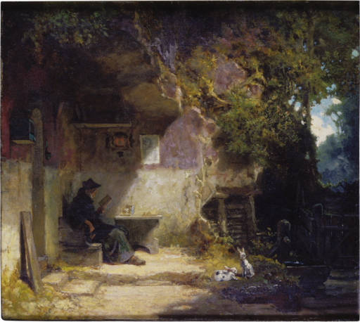 The Hermit in front of His Retreat (SM 1354)