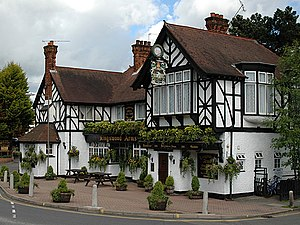 English: The Kingswood Arms. The Kingswood Arm...