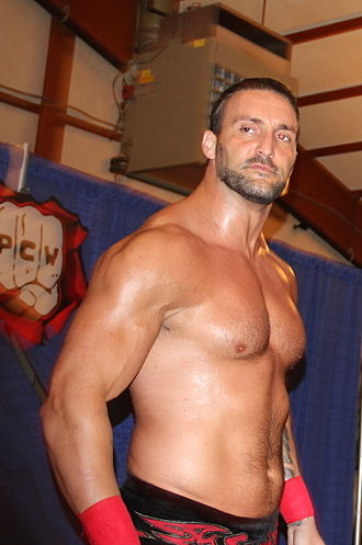 Chris Masters - Masters during a Preston City Wrestling (PCW) event.