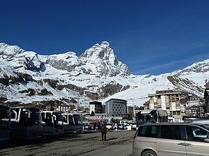 Breuil-Cervinia - Image: The Matterhorn from Breuil Cervinia