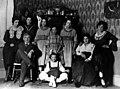 The Merlo Family, Commercial Hotel dining room 1919 (Beaverton, Oregon Historical Photo Gallery) (189).jpg
