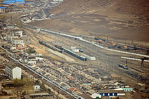 Musan County - Musan station