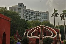 The Park Hotel In Delhi With Jantar Mantar Front