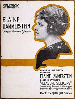 The Pleasure Seekers (1920 film) - Advertisement