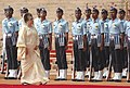 The Prime Minister of Bangladesh, Ms Khaleda Zia inspecting Guard of Honour at a Ceremonial Reception, in New Delhi on March 21, 2006.jpg