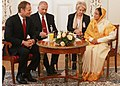 The Prime Minister of Poland, Mr. Donald Tusk called on the President, Smt. Pratibha Devisingh Patil, at Belweder Palace in Warsaw, Poland on April 24, 2009 (1).jpg