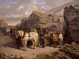 The Quarry) by John Frederick Herring, Sr..jpg
