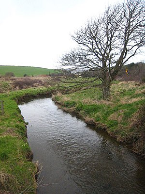River Gannel - The River Gannel below Trevemper Bridge