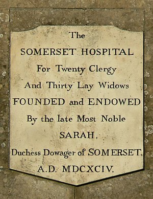 Froxfield - Dedication plaque