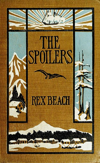 The Spoilers (Beach novel) - First edition cover
