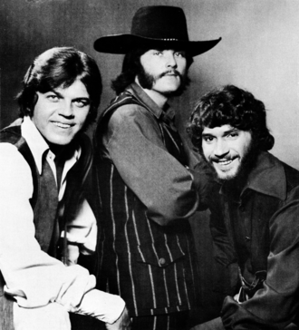 The Stampeders - The Stampeders in 1971: from left to right, Ronnie King (bass, vocals), Rich Dodson (guitar, vocals), Kim Berly (drums, vocals).