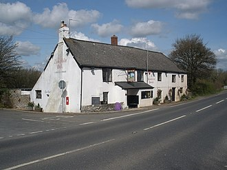 Abbotskerswell - Image: The Two Mile Oak, near Abbotskerswell geograph.org.uk 1236710