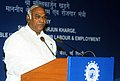 The Union Minister for Labour and Employment, Shri Mallikarjun Kharge addressing the meeting of officers of 120 offices of EPFO, in New Delhi on June 22, 2011.jpg
