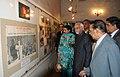 The Vice President, Shri Mohd. Hamid Ansari visits the Bangabandhu Museum, at Savar, in Bangladesh on May 05, 2011.jpg