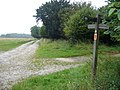 The West Sussex Literary Trail joins the South Downs Way at Tegleaze - geograph.org.uk - 1073749.jpg