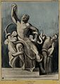 The antique statue of Laocoon; Lord Melbourne as Laocoon, Lo Wellcome V0050243.jpg