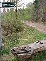 The bridleway crosses Brierley Drive - geograph.org.uk - 408090.jpg