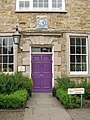 The front door and crest for the Chorister School - geograph.org.uk - 460378.jpg