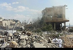 The ruins of the American missile attack on Syria 03.jpg