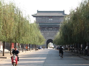 Zhengding County - The southern gate of Zhengding