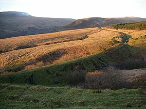 Neath and Brecon Railway - Image: The sun sets on the Victorian rail network geograph.org.uk 1061738