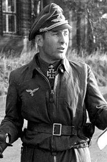 Theodor Weissenberger German officer and fighter pilot during World War II