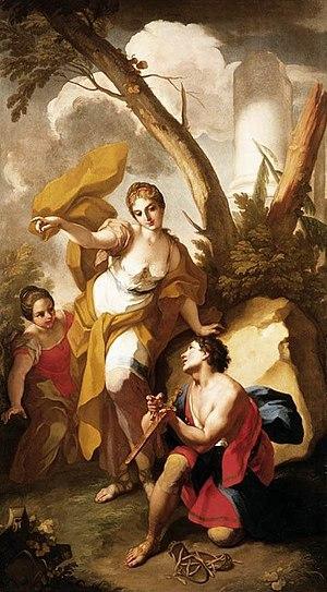Antonio Balestra - Theseus discovering his Father's Sword