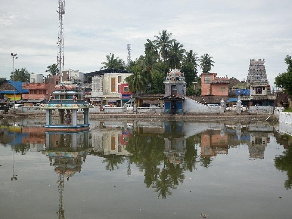 Thirunallar Dharbaranyeeswarar Temple and Tank