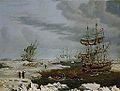 Thomas A. Binks - Hull Whalers in the Arctic (1822).jpg