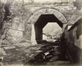 Thomas Child, Ancient arch at Nankou Pass, 1877.png