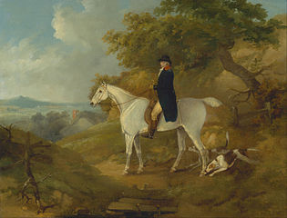 George Morland on his Hunter