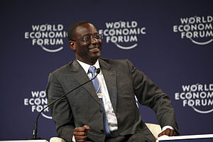 Tidjane Thiam - Image: Tidjane Thiam Annual Meeting of the New Champions 2011