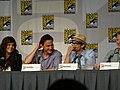 Tiffani Thiessen, Tim DeKay & Matt Bomer (4847872342).jpg