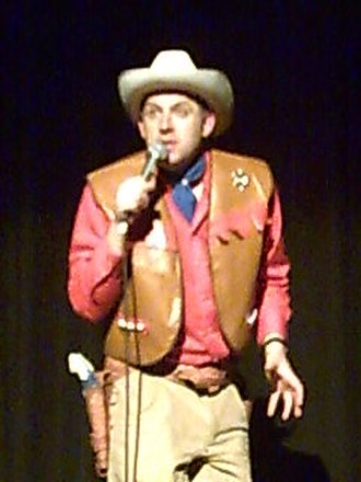 Tim Vine - Vine on the Punslinger tour in May 2008