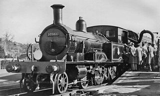 LSWR 415 class class of 71 two-cylinder 4-4-2T locomotives