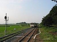 Tobanoe Station - 関東鉄道常総線 大宝駅 - panoramio.jpg