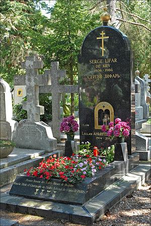 Serge Lifar - Grave of Serge Lifar in Sainte-Geneviève-des-Bois
