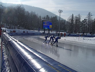 Long track speed skating - Ice rink COS OPO Zakopane