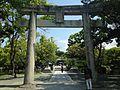 Torii and Taikobashi Bridge of Munakata Grand Shrine (Hetsu Shrine).JPG