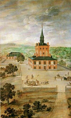 Torre de la Parada - Torre de la Parada by Felix Castello ca. 1640.