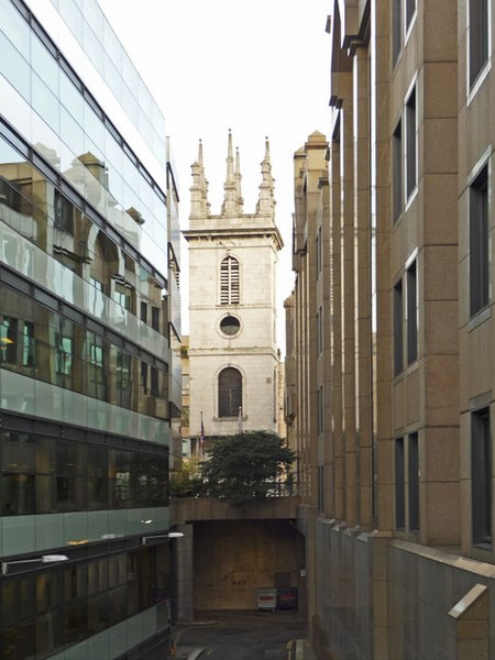 File:Tower of St Mary Somerset, London EC4 - geograph.org.uk - 1092844.jpg