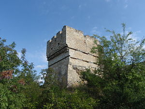 Cherven (fortress) - The best-preserved Cherven tower