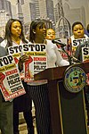 Traci Johnson for the 24th Ward City of Chicago Aldermanic Candidates Press Conference to Support Civilian Police Accountability Council Chicago Illinois 1-9-19 5562 (39721194053).jpg
