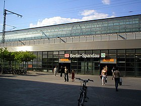 Image illustrative de l'article Gare de Berlin Spandau